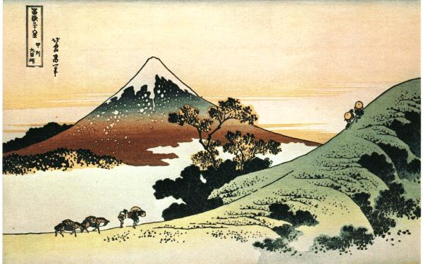 Mt Fuji Painting Images